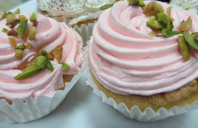 Valentine's Raspberry Cupcake