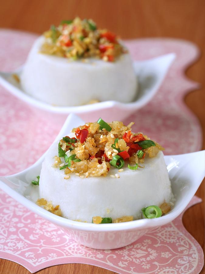 Oatmeal Yam Cake