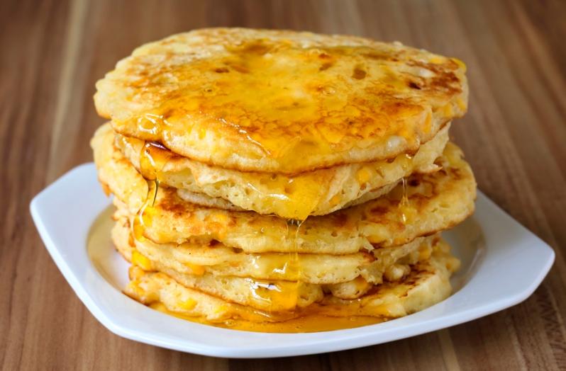 Sweet Corn Pancake