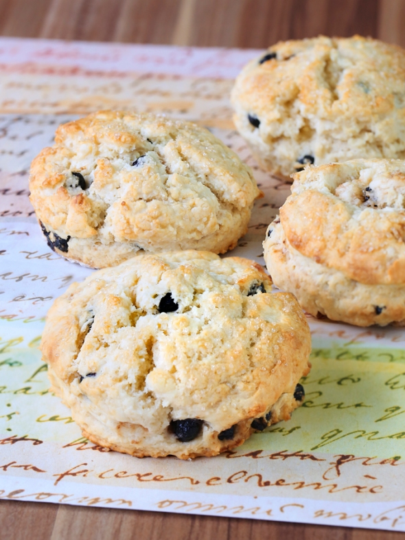 Dried Cherries & Blue Berries Scones