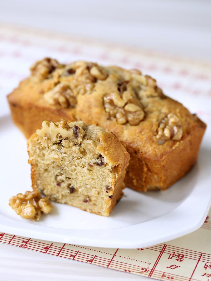 Walnut, Date & Honey Cake