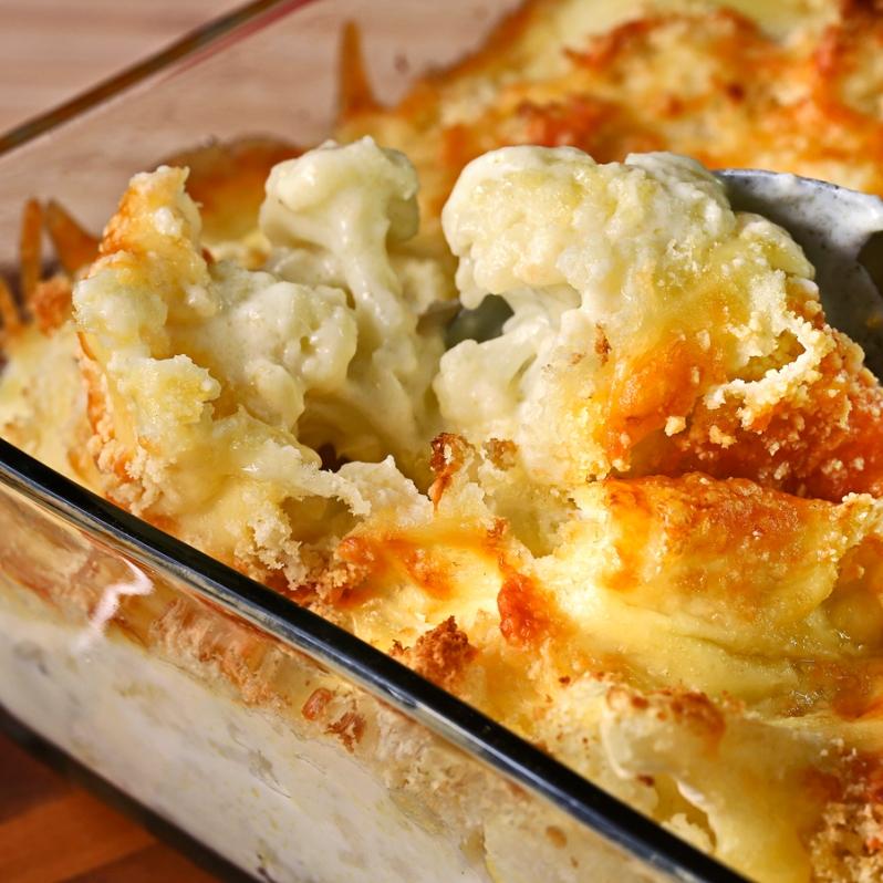 Cauliflower Gratin Crop