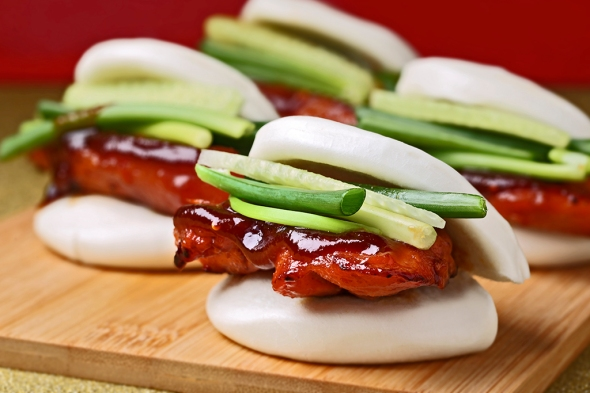 BBQ Chicken Mantou