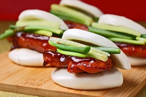 BBQ Chicken Mantou